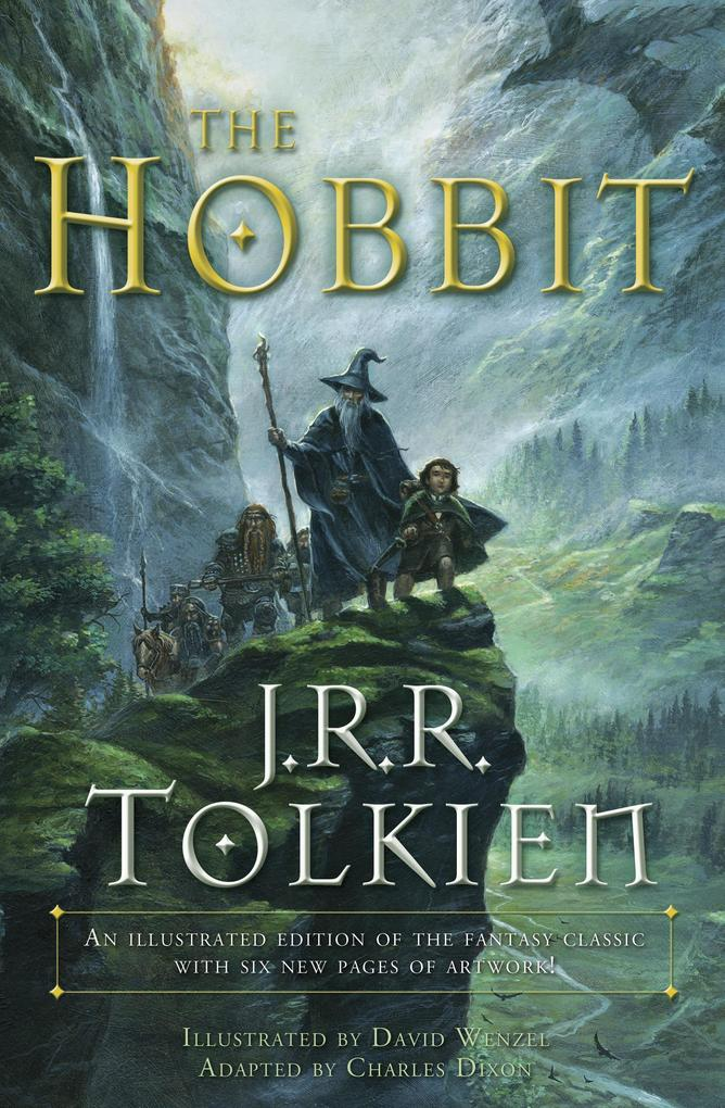 The Hobbit (Graphic Novel): An Illustrated Edition of the Fantasy Classic als Taschenbuch