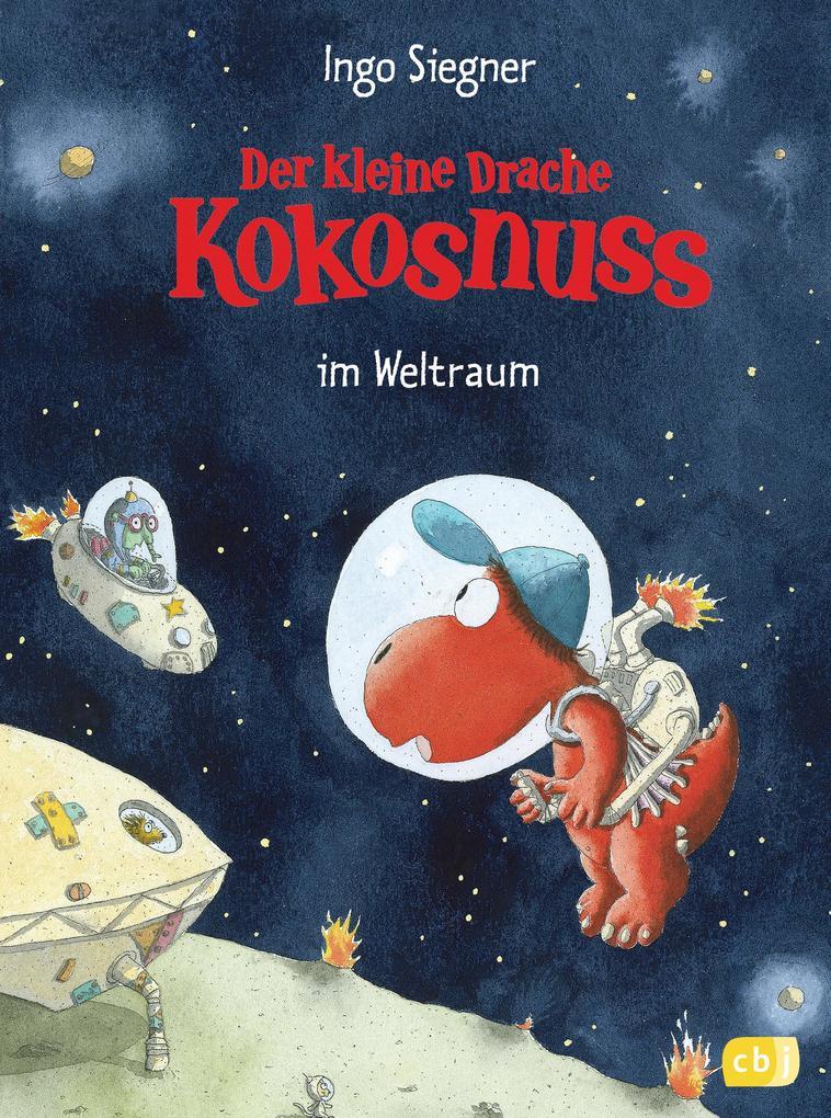 Der kleine Drache Kokosnuss 17 im Weltraum als Buch