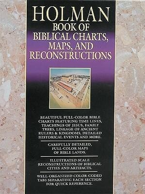 Book of Biblical Charts, Maps, and Reconstructions als Buch