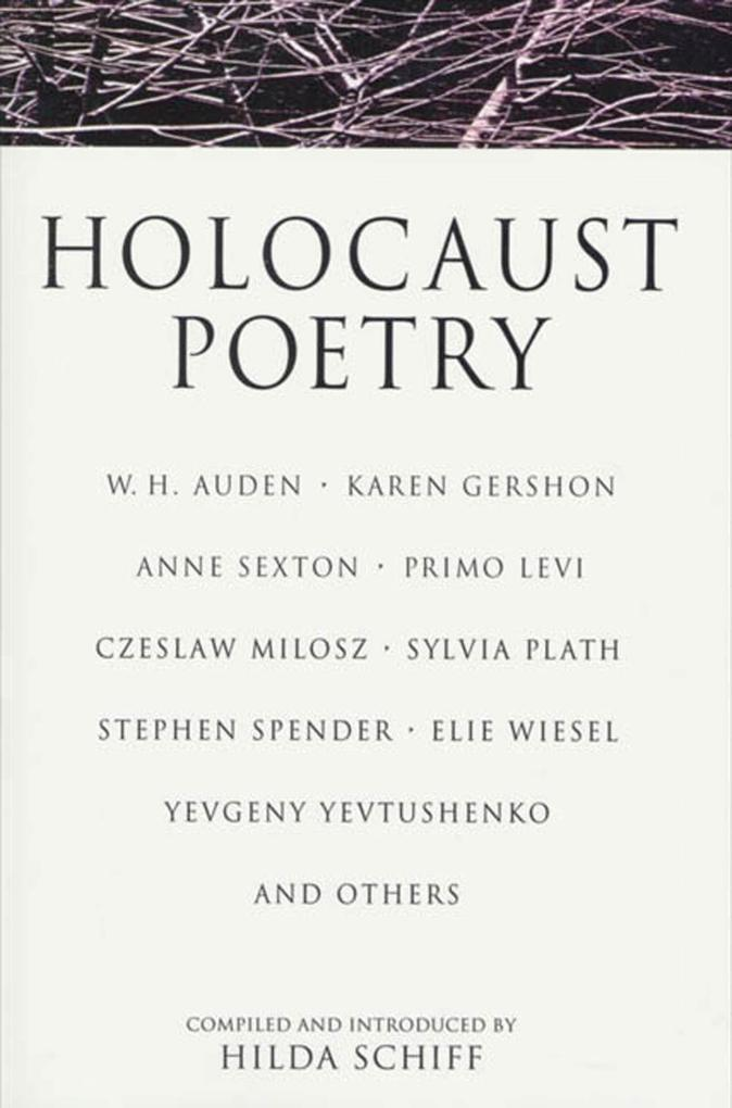 Holocaust Poetry als Taschenbuch