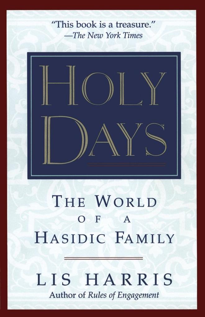 Holy Days als Taschenbuch