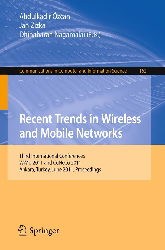 Recent Trends in Wireless and Mobile Networks als eBook von