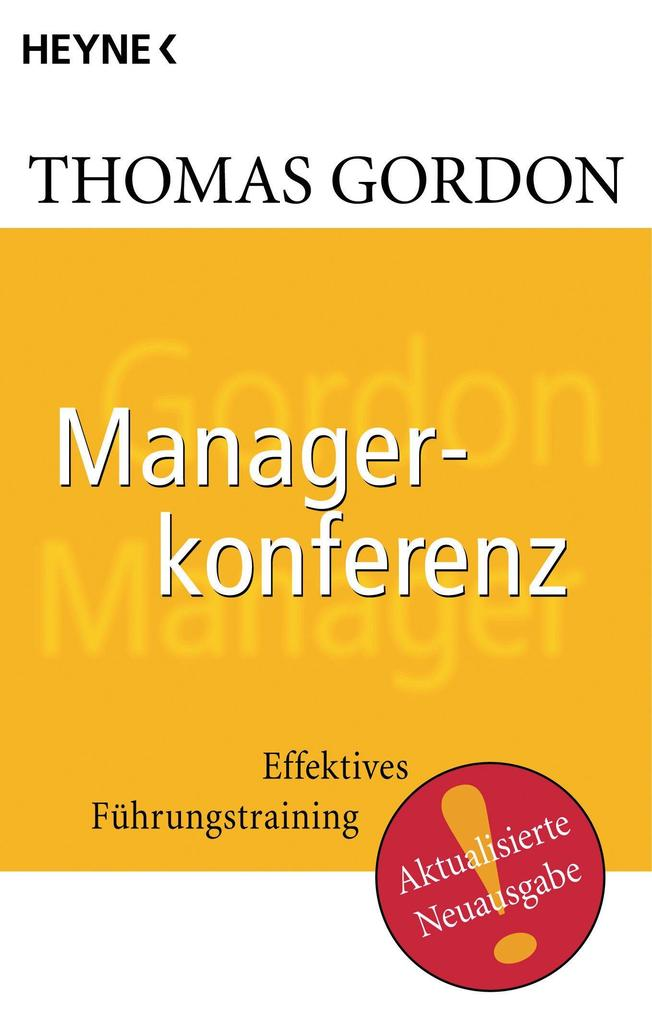 Managerkonferenz als eBook