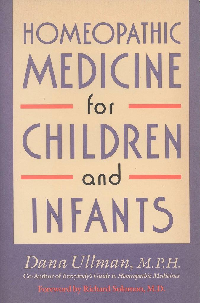 Homeopathic Medicine for Children and Infants als Taschenbuch