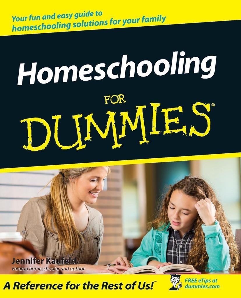 Homeschooling For Dummies als Taschenbuch