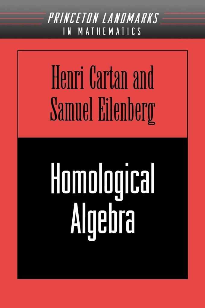 Homological Algebra (Pms-19), Volume 19 als Taschenbuch