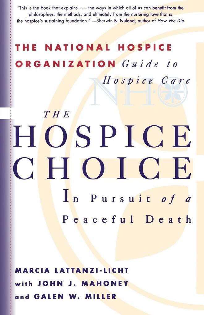 The Hospice Choice als Taschenbuch