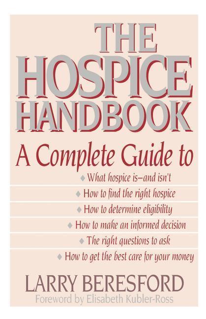 Hospice Handbook 1993 als Taschenbuch