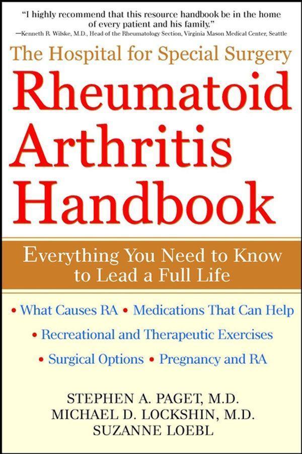 The Hospital for Special Surgery Rheumatoid Arthritis Handbook als Taschenbuch