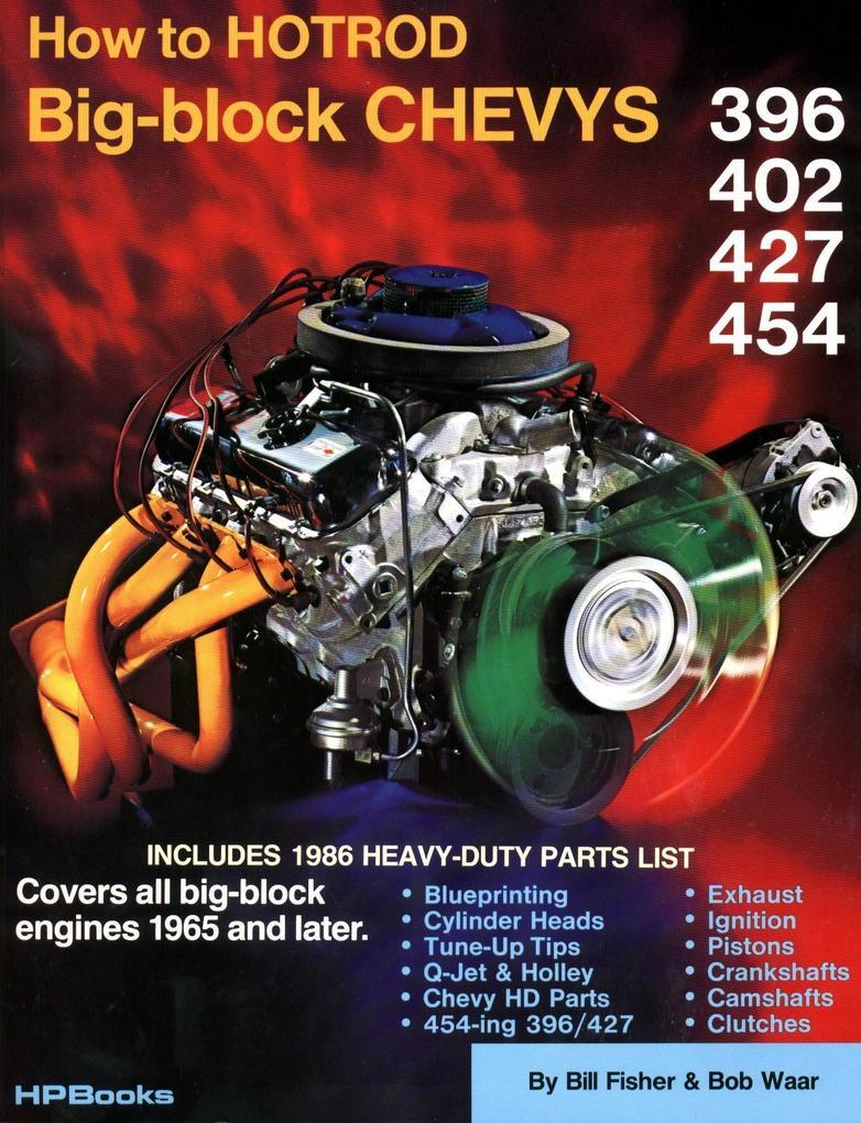 How to Hotrod Big-Block Chevys Hp42 als Taschenbuch