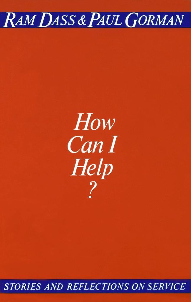 How Can I Help? als Taschenbuch