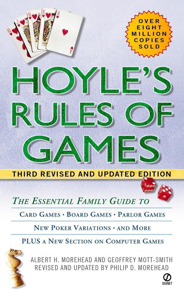 Hoyle's Rules of Games: The Essential Family Guide to Card Games, Board Games, Parlor Games, New Poker Variations, and More als Taschenbuch