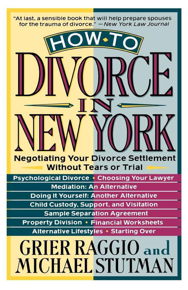 How to Divorce in New York als Taschenbuch