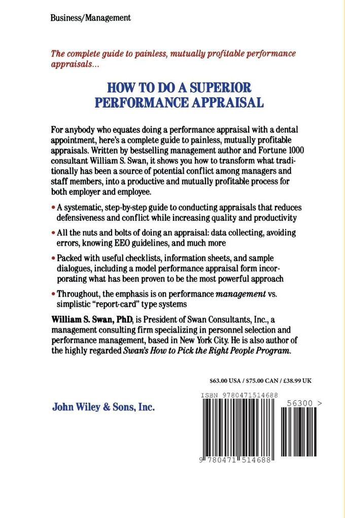 How to Do a Superior Performance Appraisal als Taschenbuch