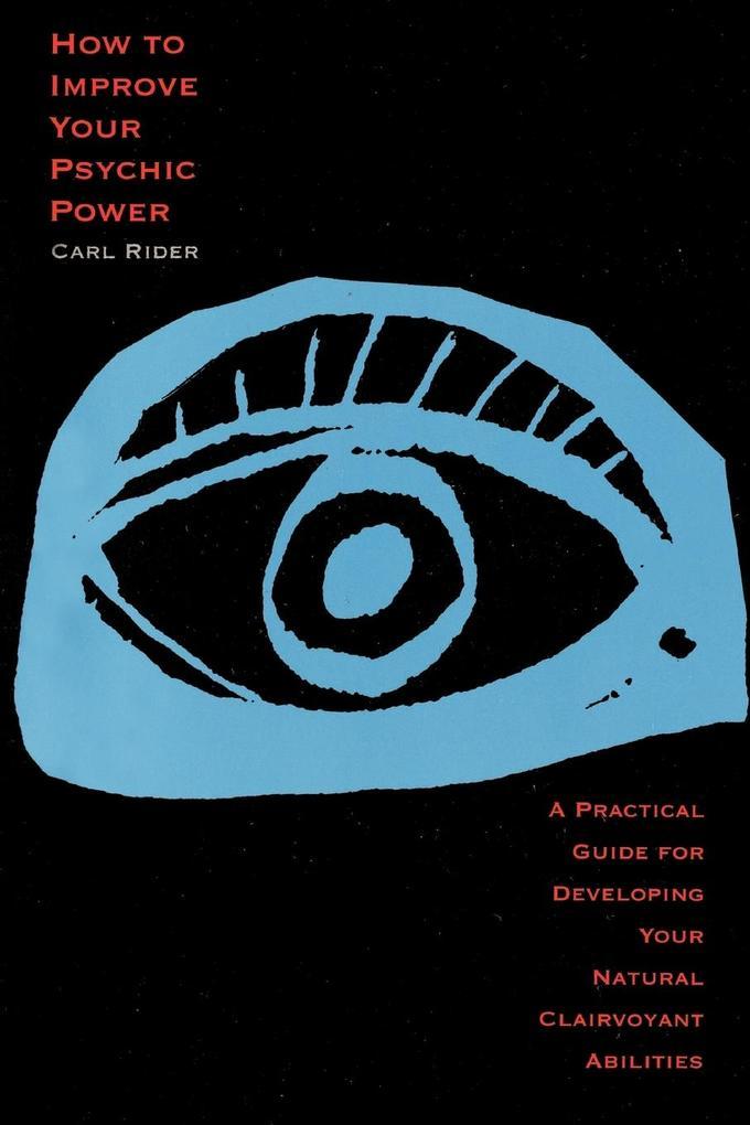 How to Improve Your Psychic Power als Taschenbuch