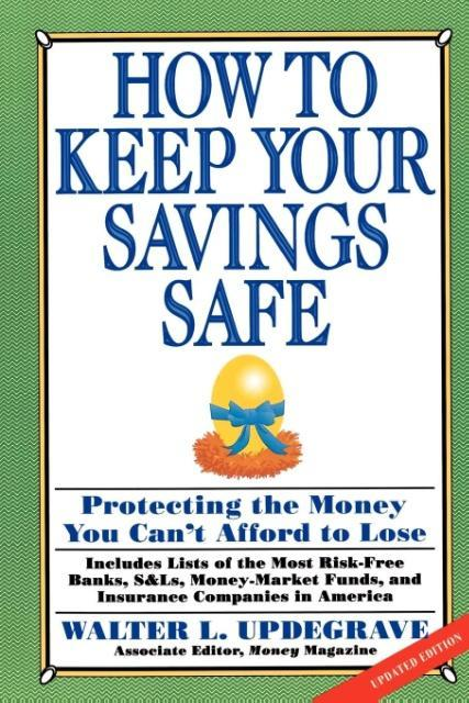 How to Keep Your Savings Safe als Taschenbuch