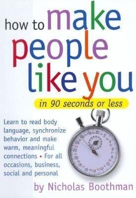 How to Make People Like You in 90 Seconds or Less als Hörbuch