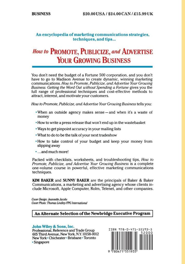 How To Promote  Adv Small Business P als Taschenbuch