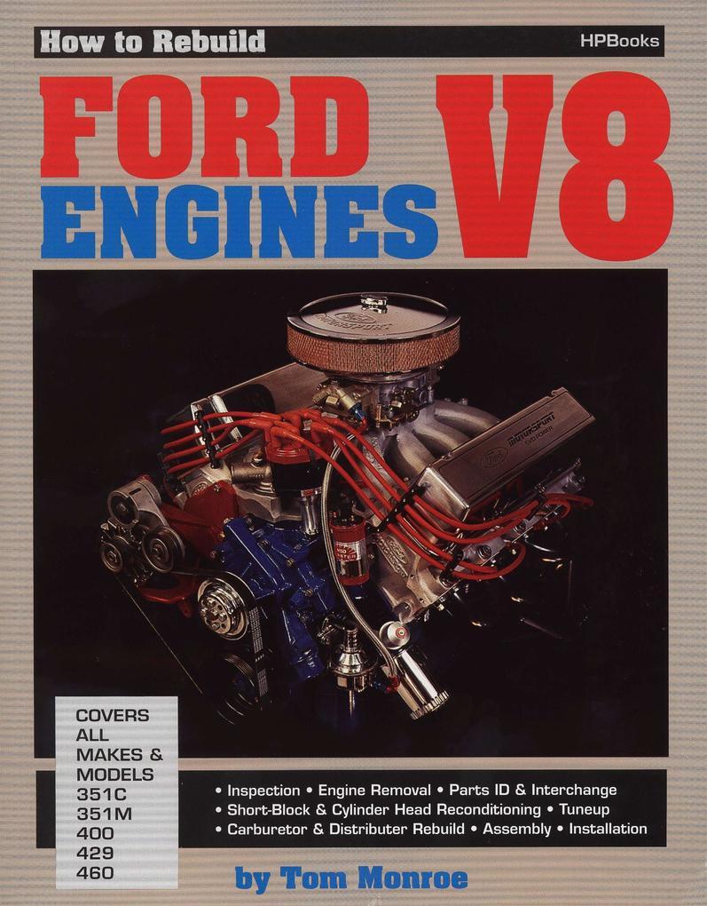 Rebuild Ford V-8 Hp36 als Taschenbuch