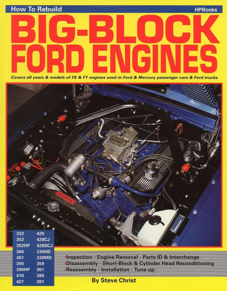 How to Rebuild Your Big-Block Ford Engines als Taschenbuch