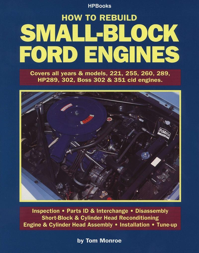 Rebuild Small-Block Ford Engines Hp89 als Taschenbuch