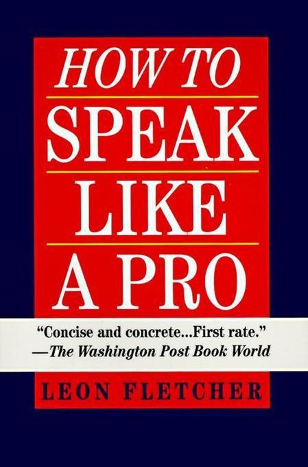 How to Speak Like a Pro als Taschenbuch