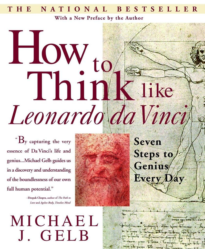 How to Think Like Leonardo Da Vinci: Seven Steps to Genius Every Day als Taschenbuch