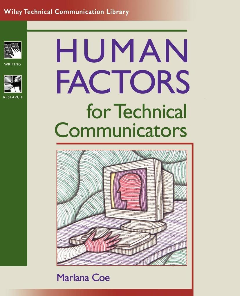 Human Factors for Technical Communicators als Buch