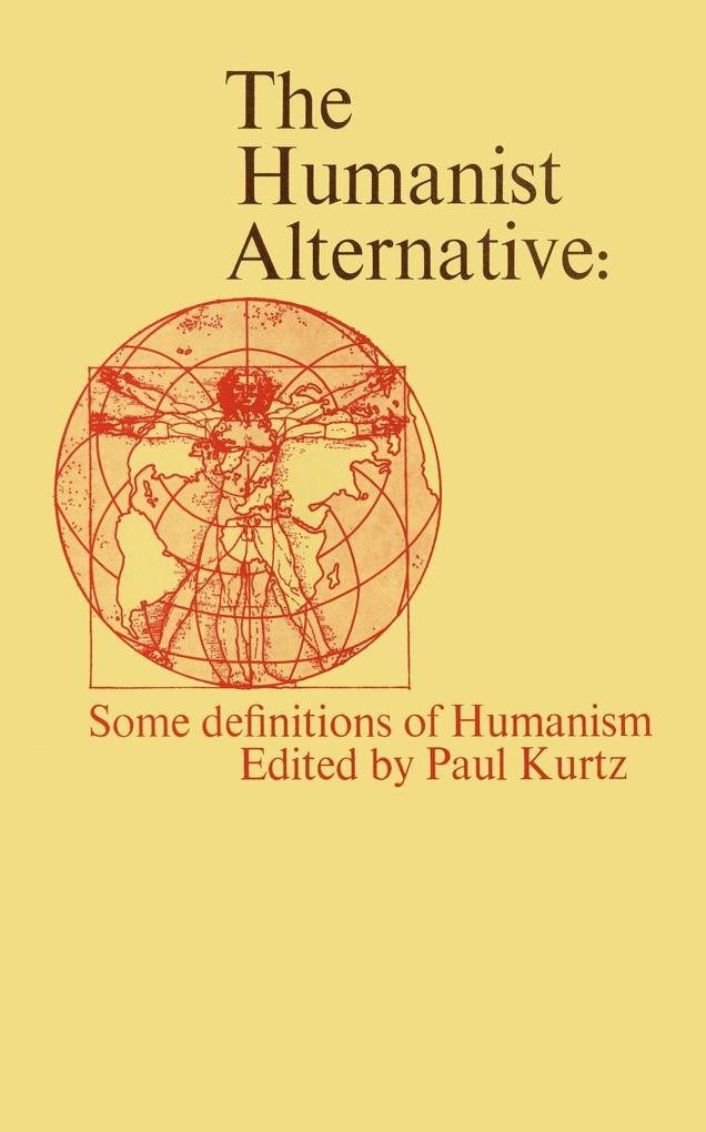 The Humanist Alternative als Buch