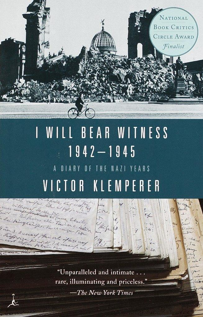 I Will Bear Witness, Volume 2: A Diary of the Nazi Years: 1942-1945 als Taschenbuch