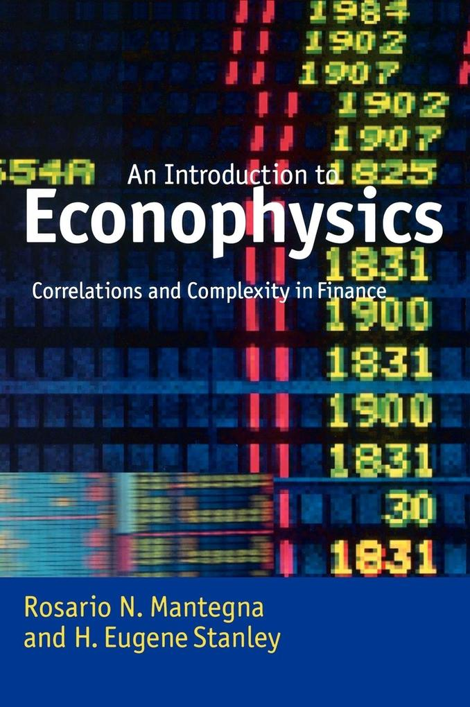 Introduction to Econophysics: Correlations and Complexity in Finance als Buch
