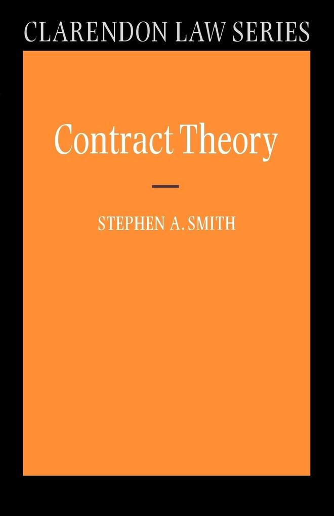 Contract Theory als Buch