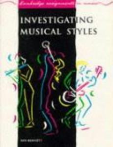 Investigating Musical Styles als Buch