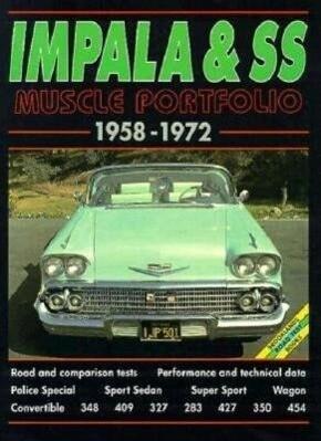 Impala and SS Muscle Portfolio 1958-1972 als Taschenbuch