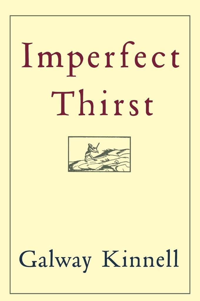 Imperfect Thirst als Taschenbuch