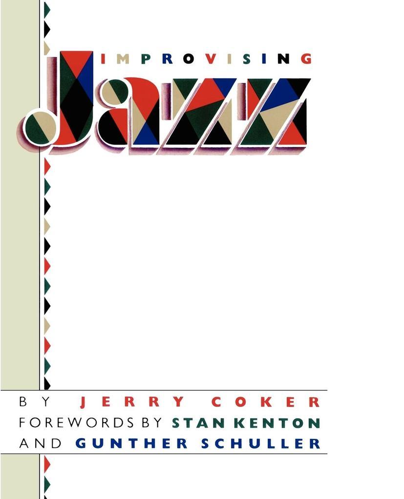 Improvising Jazz als Taschenbuch