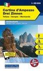 KuF Italien Outdoorkarte 06 Cortina d'Ampezzo Drei Zinnen 1 : 35.000