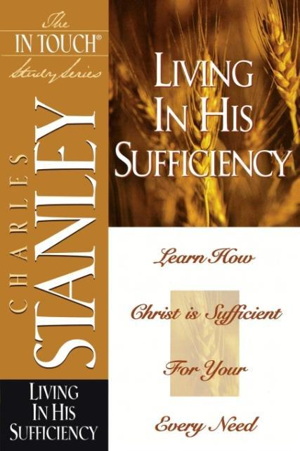 Living in His Sufficiency als Taschenbuch