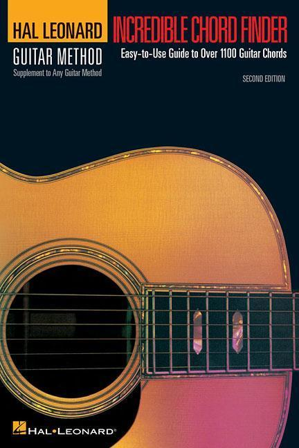Incredible Chord Finder - 6 Inch. X 9 Inch. Edition: Hal Leonard Guitar Method Supplement als Taschenbuch
