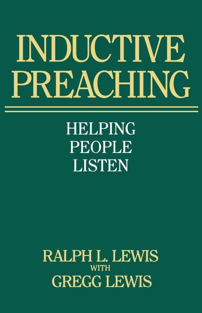 Inductive Preaching als Taschenbuch
