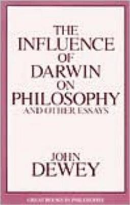 Influence of Darwin on Philosophy and Other Essays als Taschenbuch
