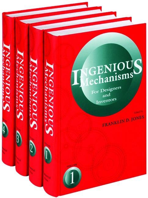 Ingenious Mechanisms 4 Volume Set: For Designers and Inventors als Buch