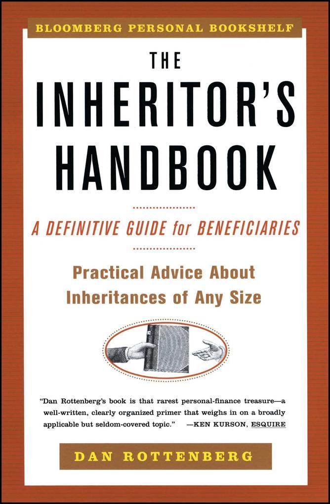 The Inheritors Handbook: A Definitive Guide for Beneficiaries als Taschenbuch