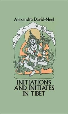Initiations and Initiates in Tibet als Taschenbuch