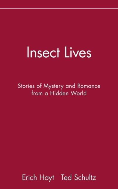 Insect Lives: Stories of Mystery and Romance from a Hidden World als Buch
