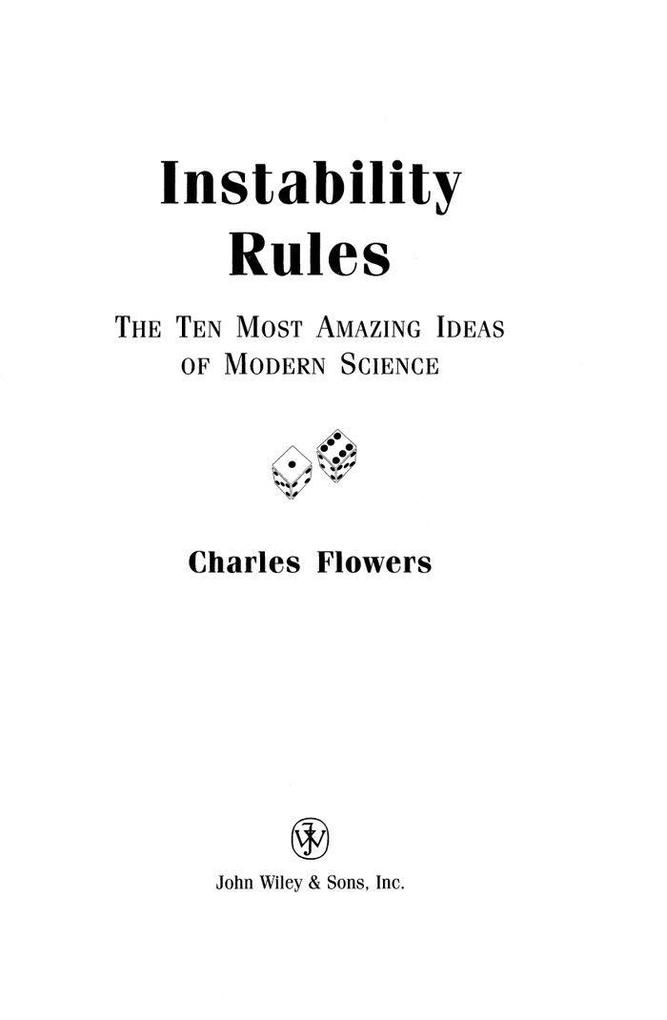 Instability Rules: The Ten Most Amazing Ideas of Modern Science als Buch