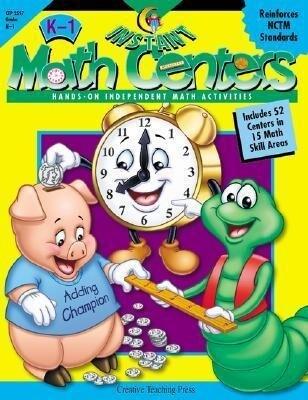 Instant Math Centers: Hands-On, Independent Math Activities K-1 als Taschenbuch