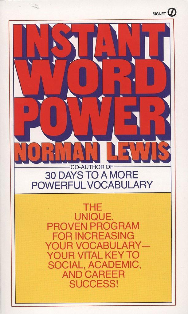Instant Word Power als Taschenbuch