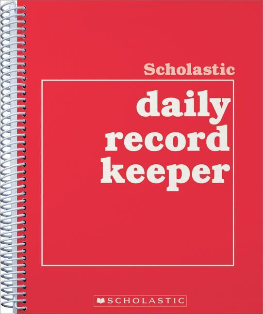 Scholastic Daily Record Keeper als Taschenbuch