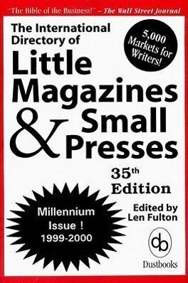 The International Directory of Little Magazines and Small Presses 1999-2000 als Taschenbuch